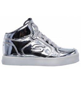 Skechers Energy Lights Eliptic zilver sneakers meisjes