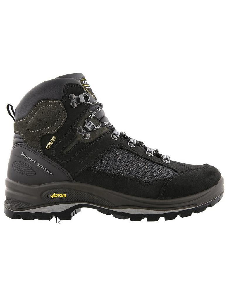 Grisport Grisport Everest Mid zwart wandelschoenen uni