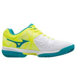 Mizuno Wave Exceed Star Jr CC wit tennisschoenen kids