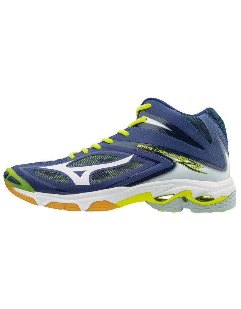 Mizuno Mizuno Wave Lightning Z3 Mid blauw volleybalschoenen heren