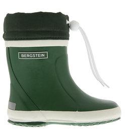 Bergstein Winterboot groen regenlaarzen uni