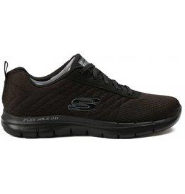 Skechers Flex Appeal 2.0 Break zwart sneakers dames
