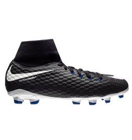 Nike Jr Hypervenom Phelon 3 DF FG zwart voetbalschoenen kids