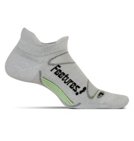 Feetures Elite Merino+ Cushion grijs sportsokken uni