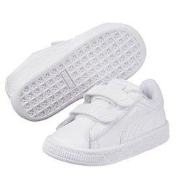 Puma Basket Classic LFS V wit sneakers kids