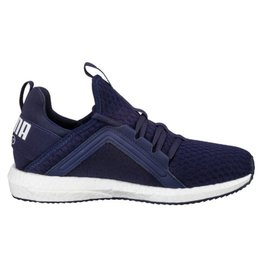 Puma Mega NRGY AC PS donkerblauw sneakers peuters