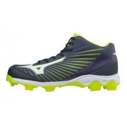 Mizuno 9-Spike Advance Franchise Mid 9 blauw outdoor schoenen uni