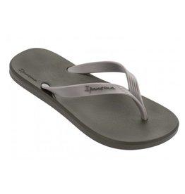 Ipanema Posto 10 groen grijs slippers heren
