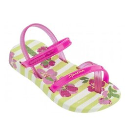 Ipanema Fashion sandals geel roze baby