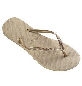 Havaianas Slim  sand golden slippers meisjes