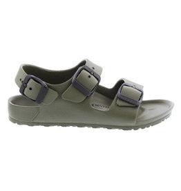 Birkenstock Milano Eva groen sandalen kids