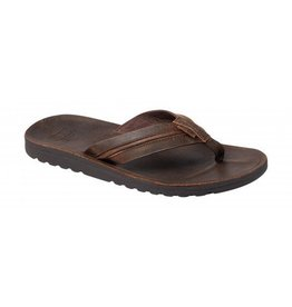 Reef Voyage Lux bruin slippers heren