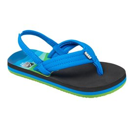 Reef Little AHI blauw groen slippers kids