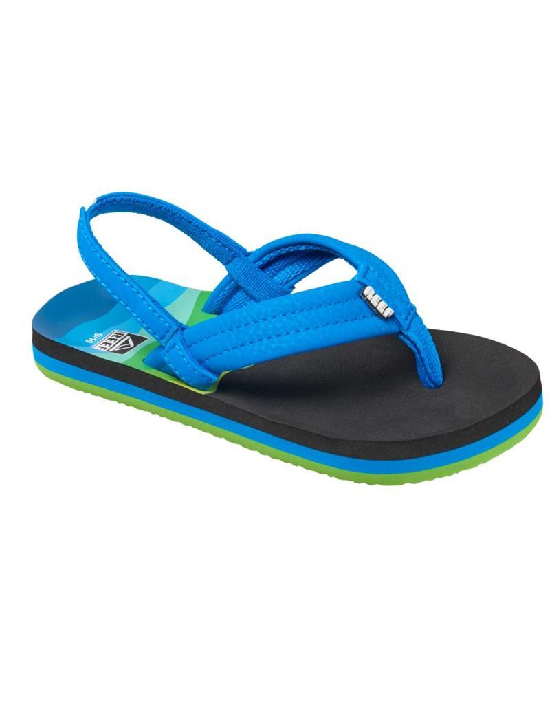e0bc624057b Reef Little AHI blauw groen slippers kids (R02345ABL ...