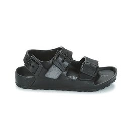 Birkenstock Milano Eva zwart sandalen kids