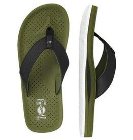 O'Neill FM Punch zwart groen slippers heren