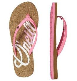 O'Neill FW Logo Cork roze slippers dames