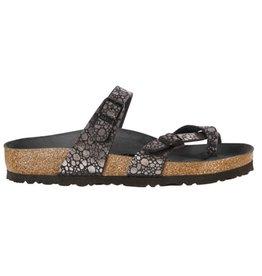Birkenstock Mayari Metallic Stones zwart slippers dames (S)