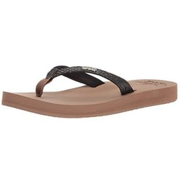 Reef Star Cushion Sassy bruin slippers dames