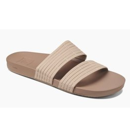 Reef Cushion Bounce Slide beige slippers dames