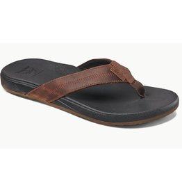 Reef Cushion Bounce Phantom bruin zwart slippers heren