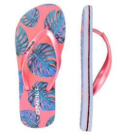 O'Neill FG Moya Plus roze blauw slippers meisjes