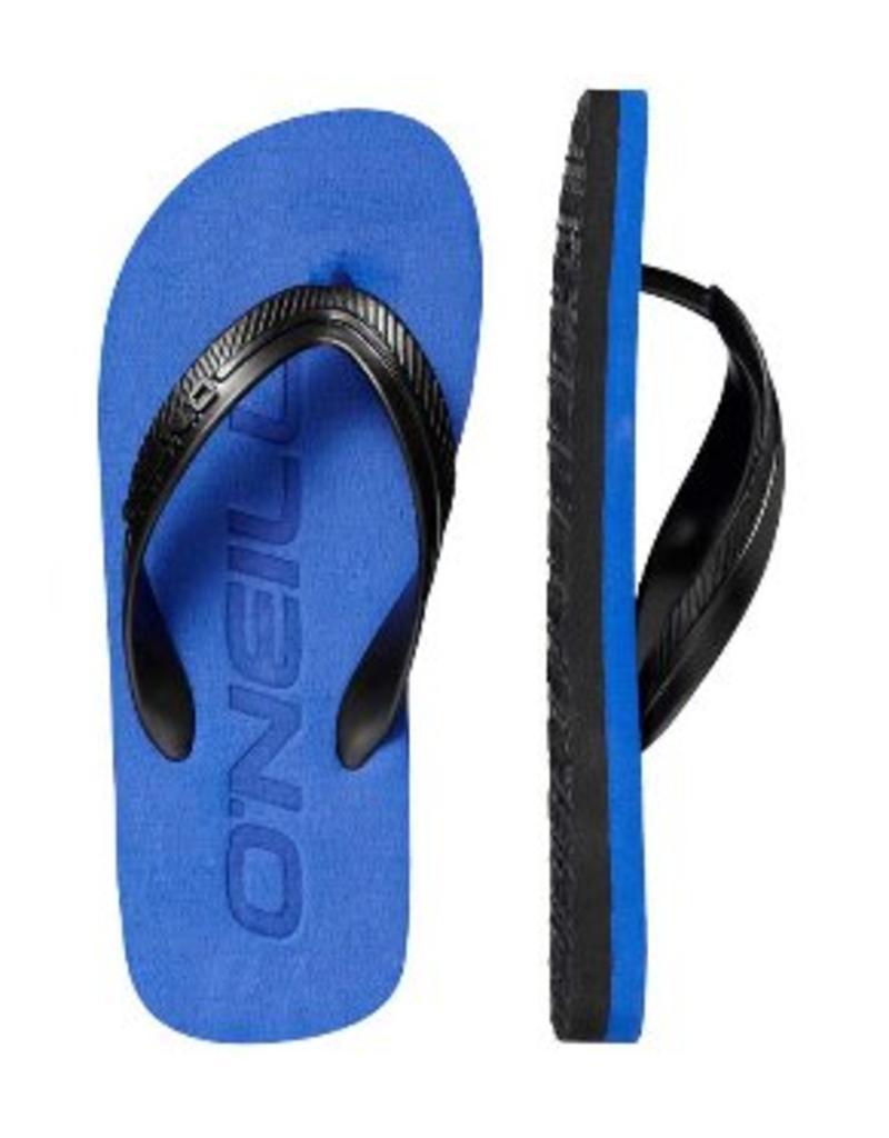 6d168a2279449f O'neill FB Logo Turkish Sea blauw slippers jongens (8A4979-5145 ...