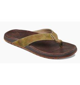 Reef Contoured Voyage LE bruin groen slippers heren