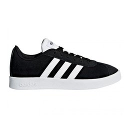 Adidas VL court 2.0 zwart sneakers kids