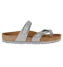 Birkenstock Mayari BF Magic Snake zilver sandalen dames