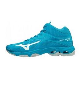 Mizuno Wave Lightning Z4 Mid blauw indoor schoenen heren