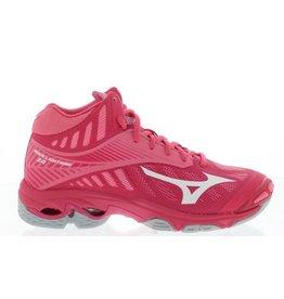 Mizuno Wave Lightning Z4 Mid roze indoor schoenen dames