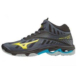 Mizuno Wave Lightning Z4 Mid geel indoor schoenen heren