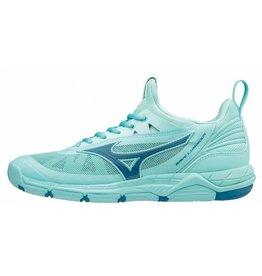 Mizuno Wave Luminous blauw indoor schoenen dames