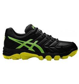ASICS Gel Blackheath 6 zwart groen hockeyschoenen heren