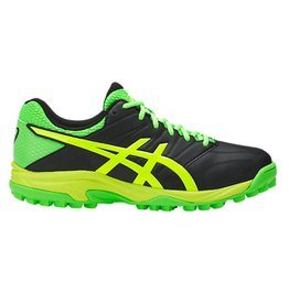 Asics Gel Hockey Lethal MP7 zwart groen hockeyschoenen heren