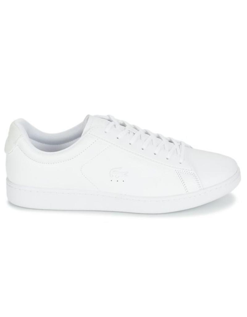 3b368b291fee85 Lacoste Carnaby 318 7 SPM wit sneakers heren (736SPM001200183 ...
