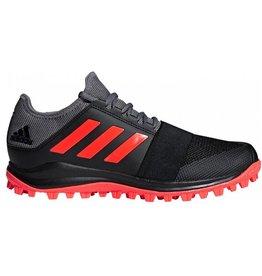 Adidas Divox 1.9S zwart grijs hockeyschoenen heren