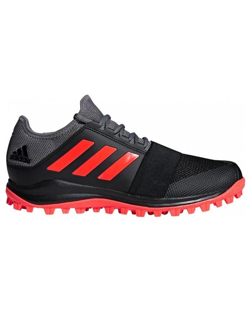 buy online e4df4 e3e0f Adidas Adidas Divox 1.9S zwart grijs hockeyschoenen heren ...