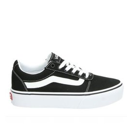 Vans WM Ward Platform zwart sneakers dames