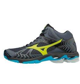 Mizuno Wave Bolt 7 Mid grijs indoor schoenen here