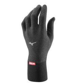 Mizuno Breath Thermo Lightweight hardloophandschoenen zwart uni