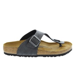 Birkenstock Ramses black finished slippers (S)