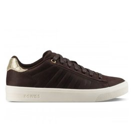 K-Swiss Court Frasco bruin goud sneakers dames