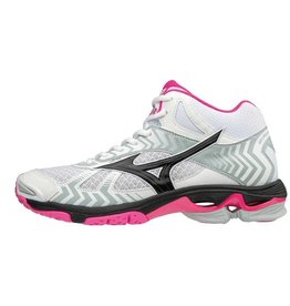 Mizuno Wave Bolt 7 Mid wit volleybalschoenen dames