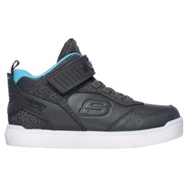Skechers Energy Lights donkergrijs sneakers kids
