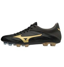 Mizuno Rebula 2 v-speed zwart goud voetbalschoenen heren