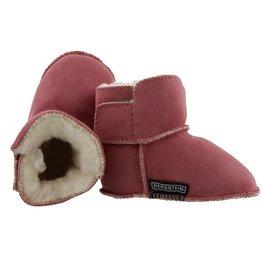 Bergstein Teddy roze sloffen baby