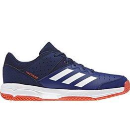f6eb36bcf85 Adidas Court Stabil Jr blauw indoor handbalschoenen kids