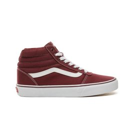 Vans Ward HI port rood sneakers uni